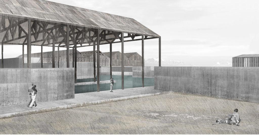 Rehabilitación de la Estancia San Gregorio: interfaz entre la pampa y el mar
